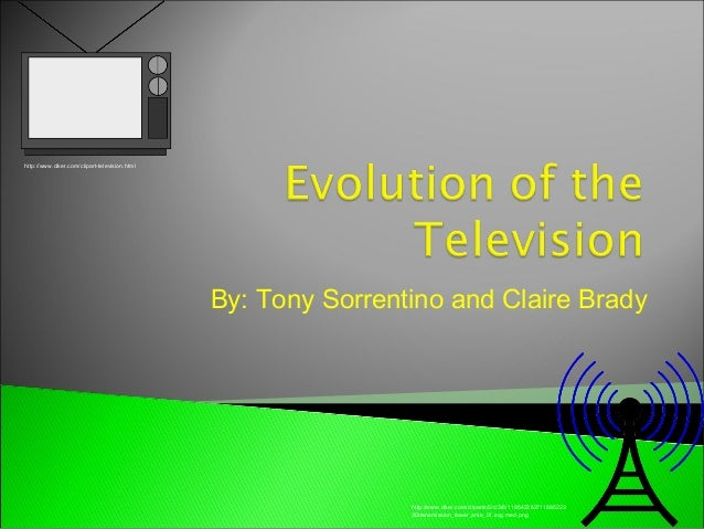 Evolution of the television!!!!!