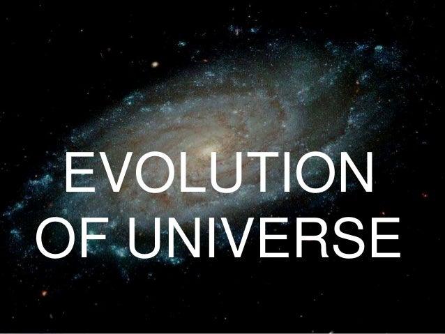 evolution of the universe essay