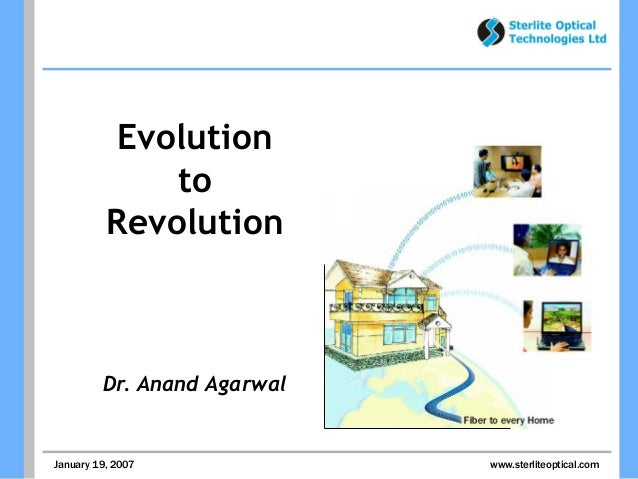 Evolution to Revolution -  Why disruption of Status Quo is important