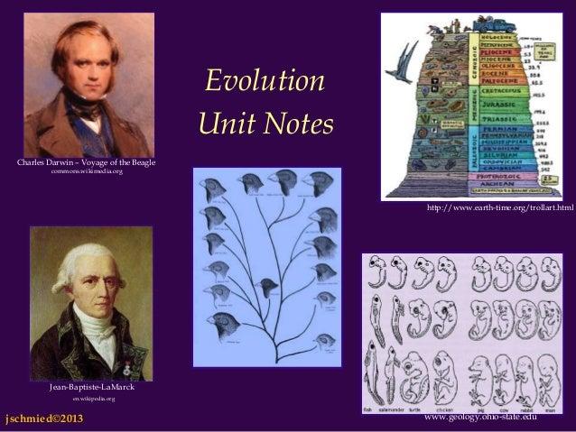 EvolutionUnit NotesCharles Darwin – Voyage of the Beaglecommons.wikimedia.orghttp://www.earth-time.org/trollart.htmlwww.ge...