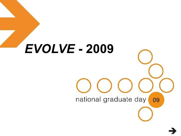 Evolve 2009