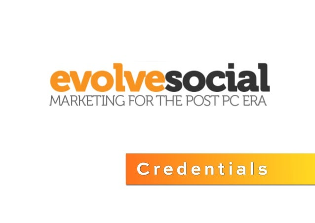 Evolve Social Credentials