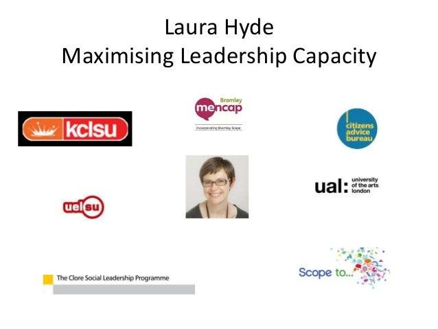 Laura Hyde Maximising Leadership Capacity
