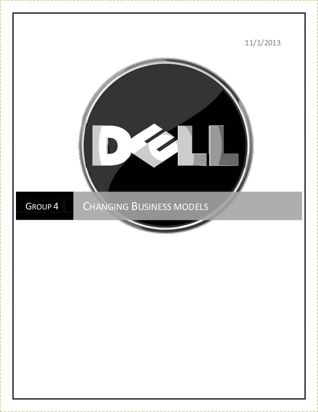 Evolving business model_of_dell