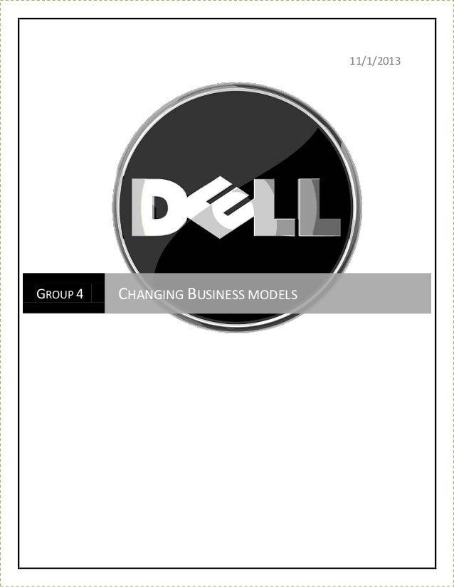 Evolving business model_of_dell