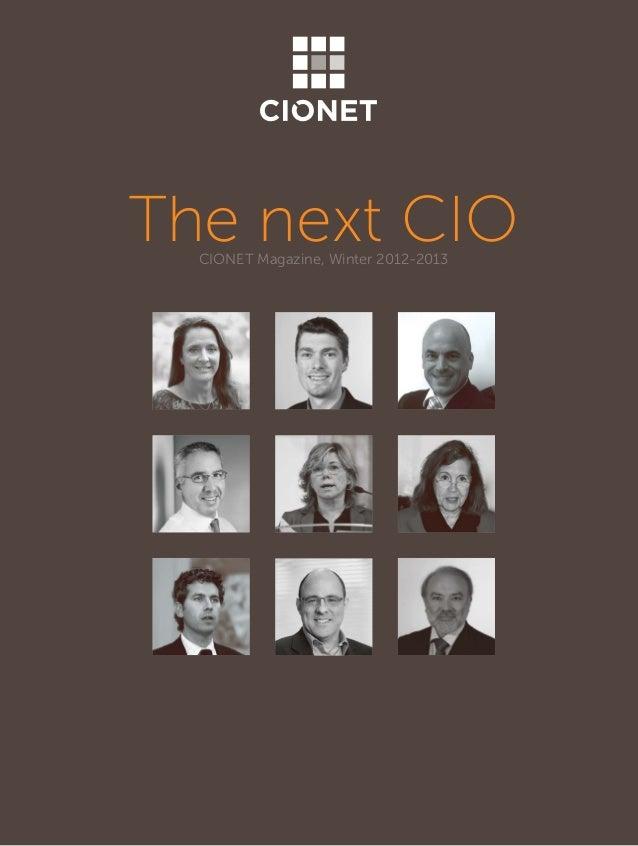 Evolving role of the new cio