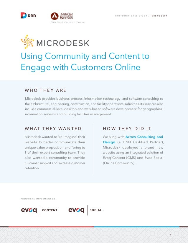 Evoq Social Case Study: Microdesk Engages Customers in Their Online Community