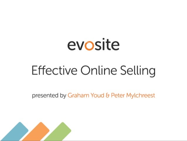 Evosite ltd ecommerce effective online selling 030913