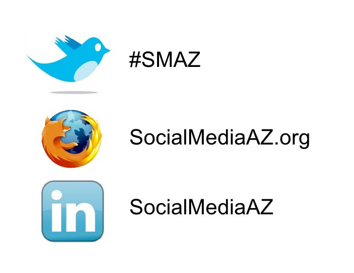#SMAZ   SocialMediaAZ.org   SocialMediaAZ