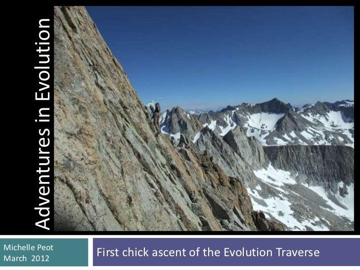Adventures in Evolution (Mar 2012 Boulder presentation)