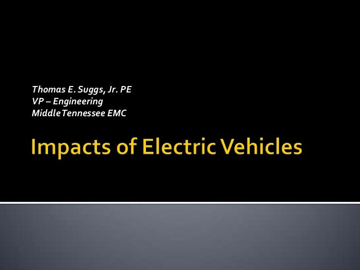 Thomas E. Suggs, Jr. PEVP – EngineeringMiddle Tennessee EMC