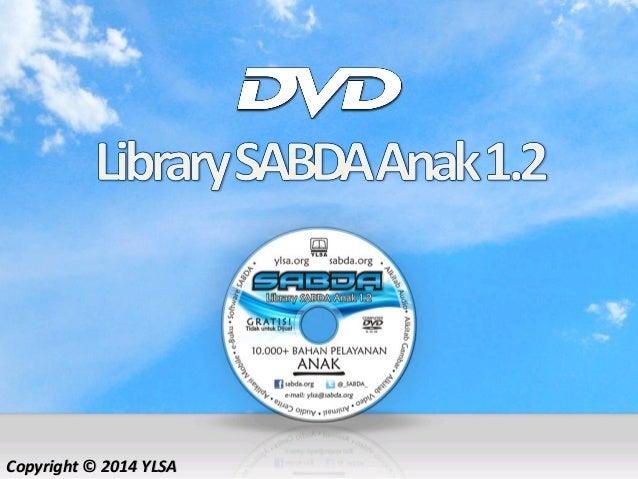 DVD Library Sabda Anak