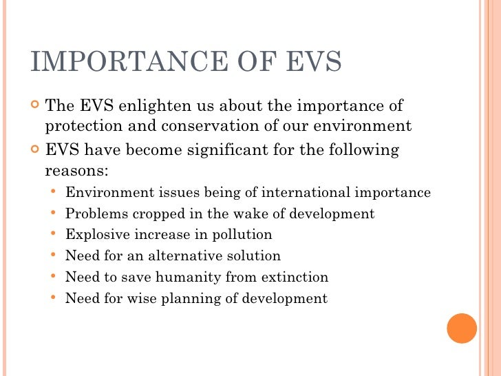essay of environmental conservation