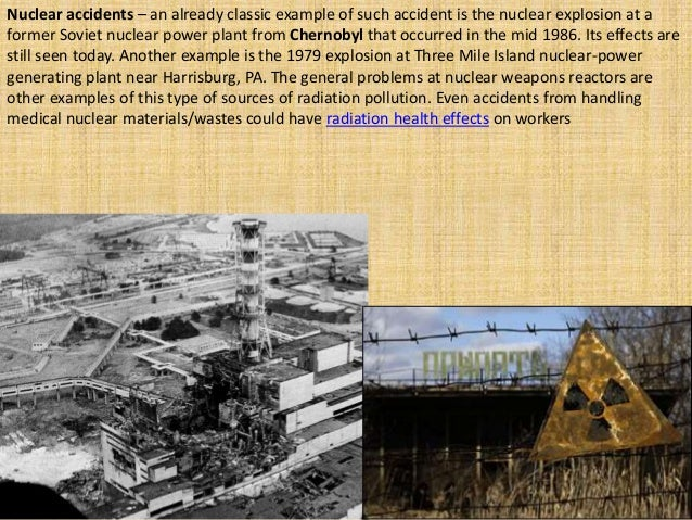 the chernobyl disaster essay
