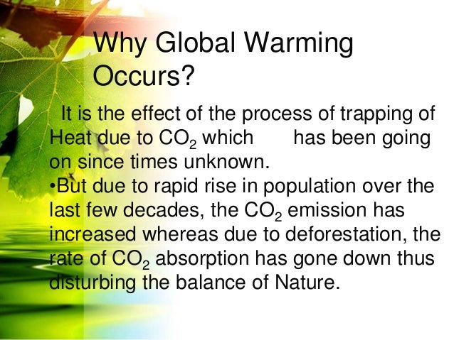 essay on global warming in simple language Short essay on climate change and global and contribute more greenhouse gases to the atmosphere ' which may lead to the ozone depletion and global warming.
