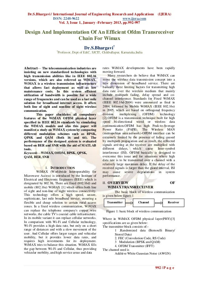 Dr.S.Bhargavi / International Journal of Engineering Research and Applications                    (IJERA)                 ...