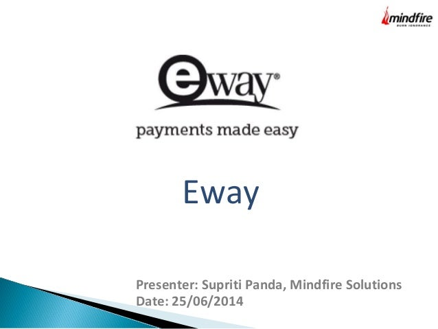 Eway - Another Payment Gateway