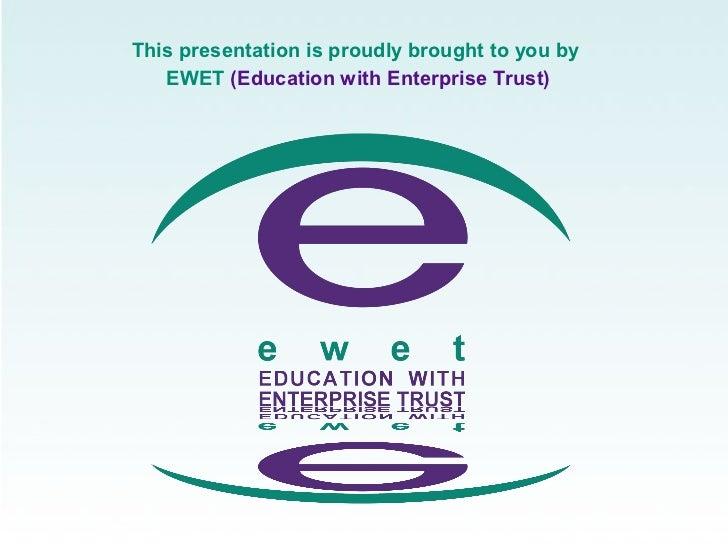 In-school Entrepreneurship Education - South Africa