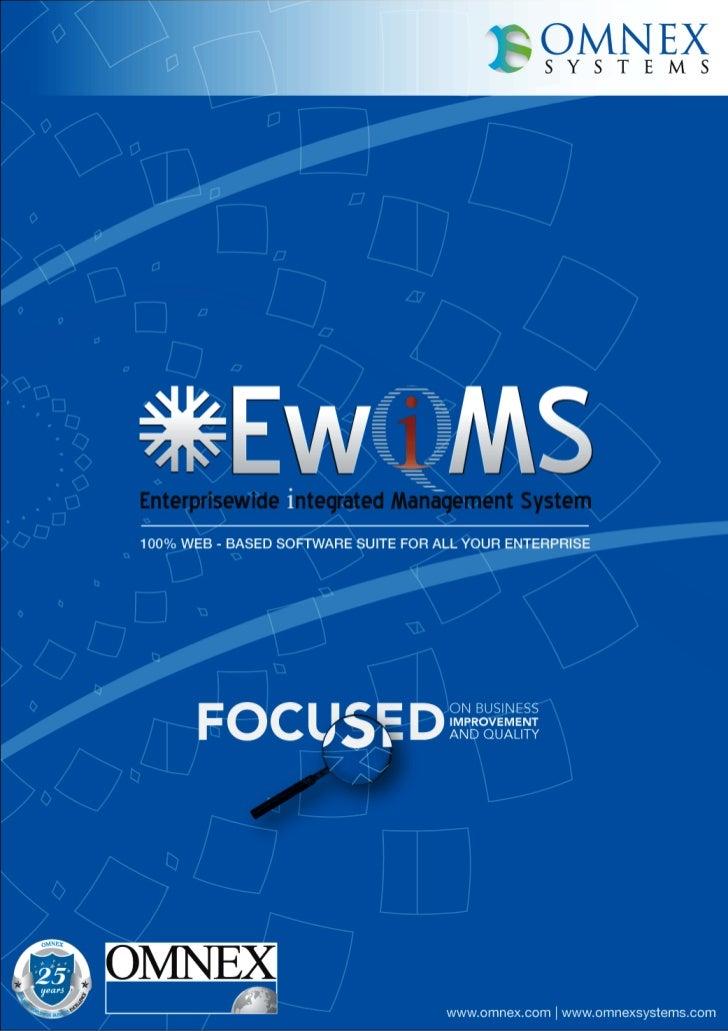 EwIms Software Brochure