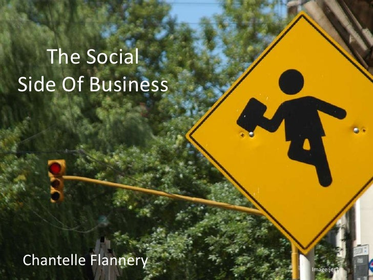 The Social Side Of Business Chantelle Flannery  Image:jer1