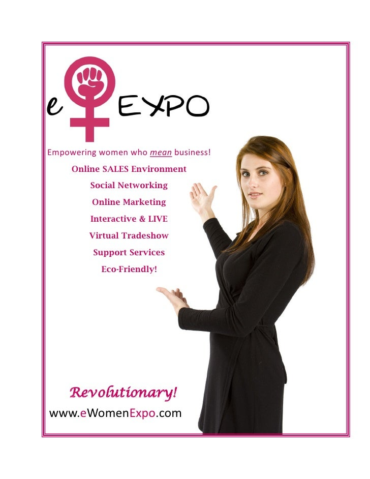 Empowering women who mean business!      Online SALES Environment          Social Networking          Online Marketing    ...