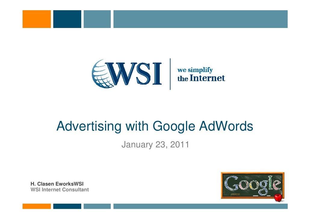 Eworks wsi cyprus wsi google adwords