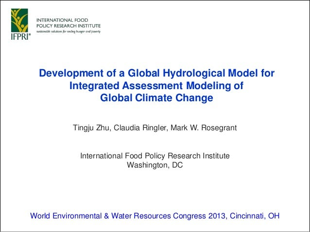Development of a Global Hydrological Model for Integrated Assessment Modeling