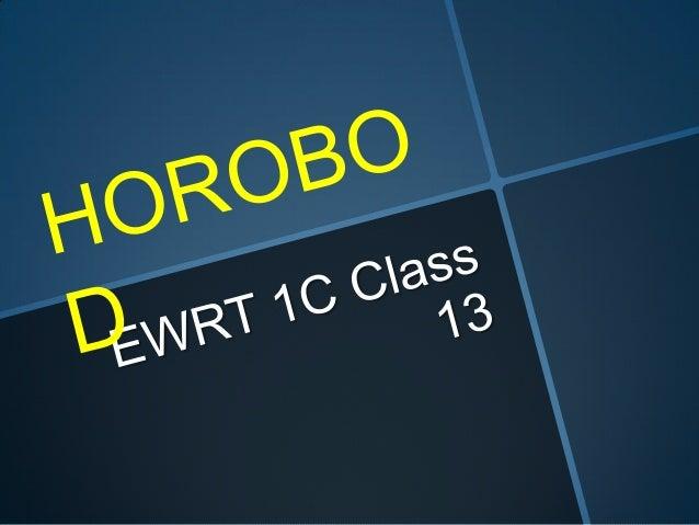 Ewrt 1 c class 13