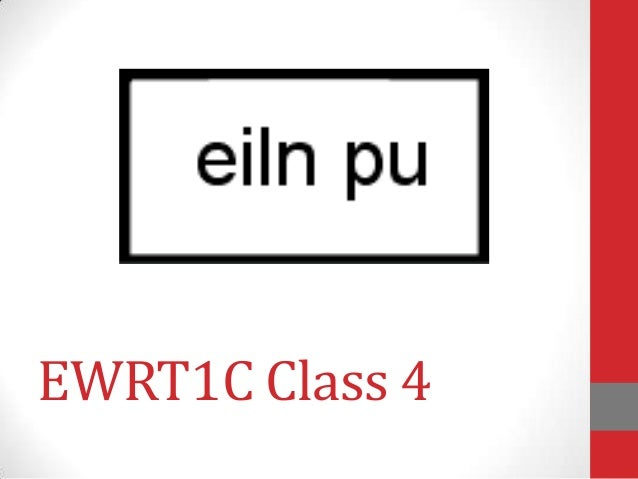 EWRT1C Class 4