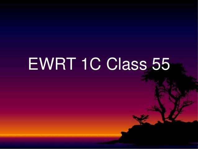 Ewrt 1 c class 55