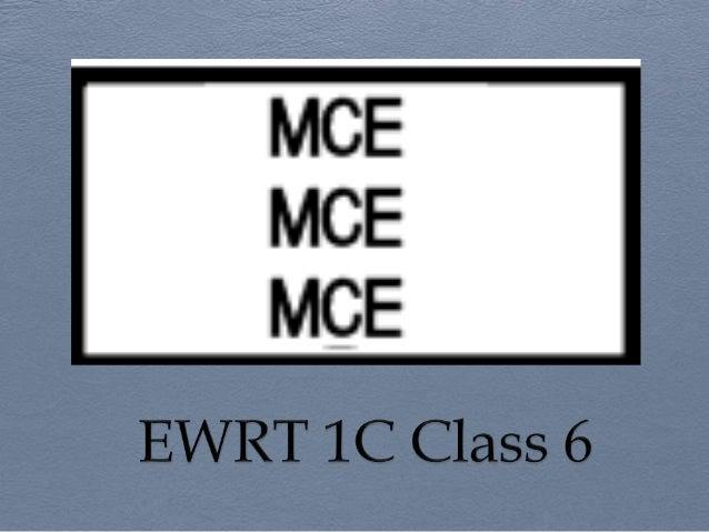 Ewrt 1 c class 7 post qhq