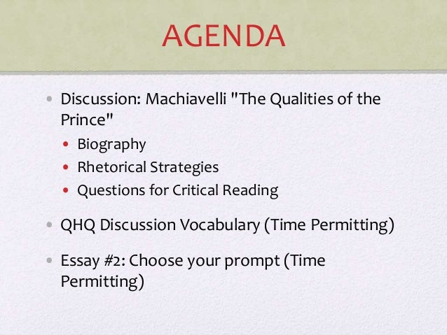 an analysis of statements by machiavelli Thesis statement argumentative compare and contrast log in × scroll to top home an analysis of machiavelli's the prince and the criticism it received from the .