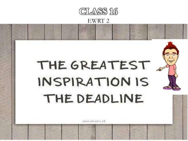 CLASS 16 EWRT 2