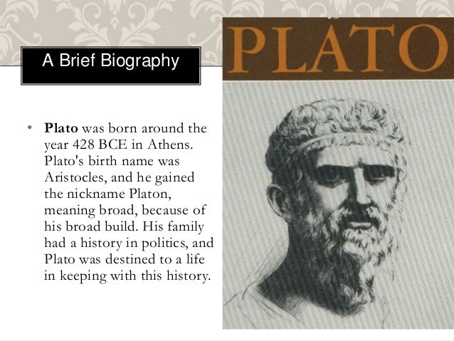 biography of plato Ancient greek philosopher aristotle helped develop both western philosophy and theology his ideas during his early days differed from plato's.