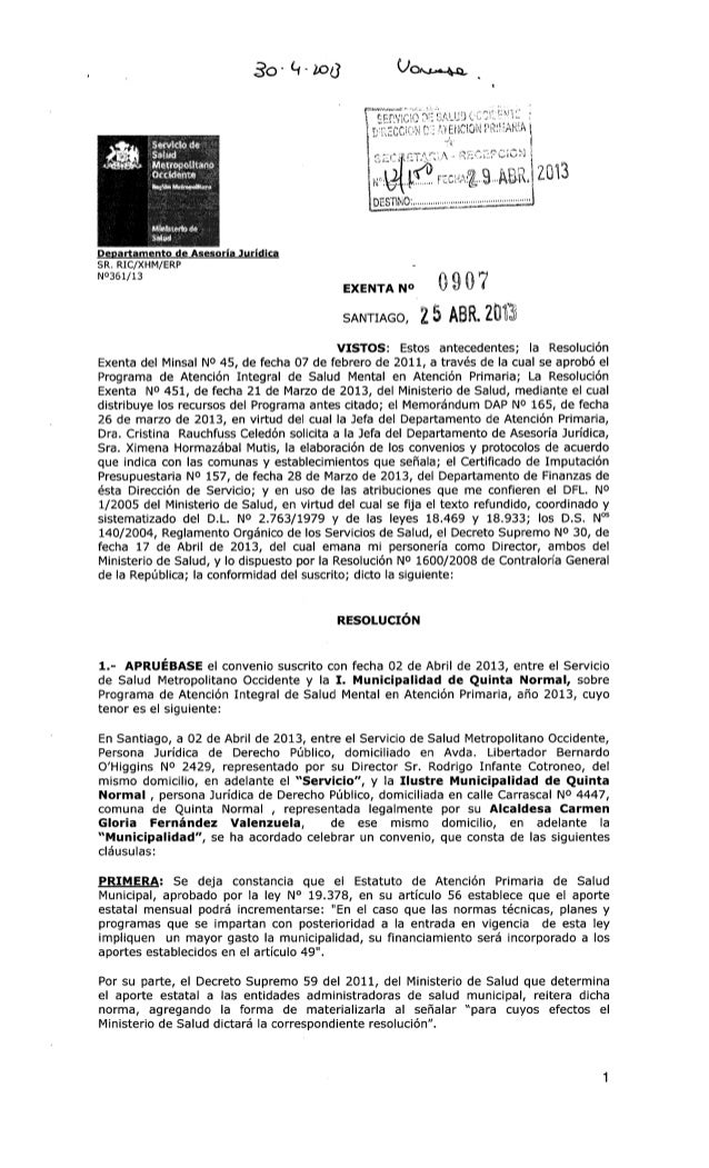 Ex. 907. quinta normal