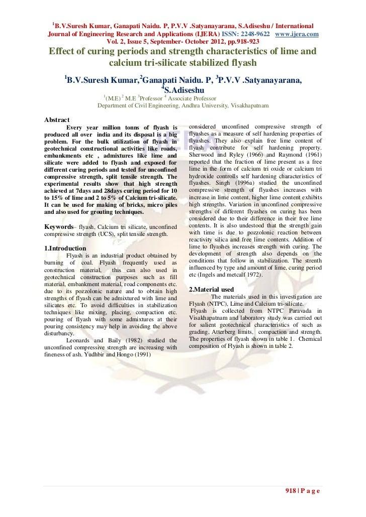 1   B.V.Suresh Kumar, Ganapati Naidu. P, P.V.V .Satyanayarana, S.Adiseshu / International Journal of Engineering Research ...