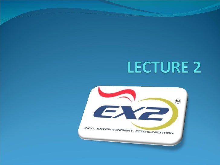 B.Com 07-11, Lecture 2 Core Marketing Concept