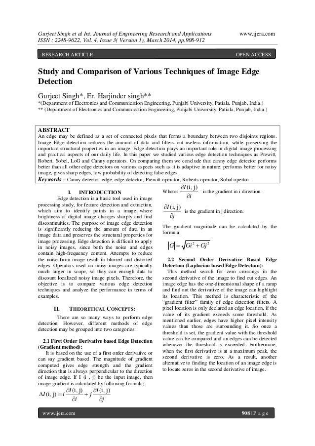 Gurjeet Singh et al Int. Journal of Engineering Research and Applications www.ijera.com ISSN : 2248-9622, Vol. 4, Issue 3(...