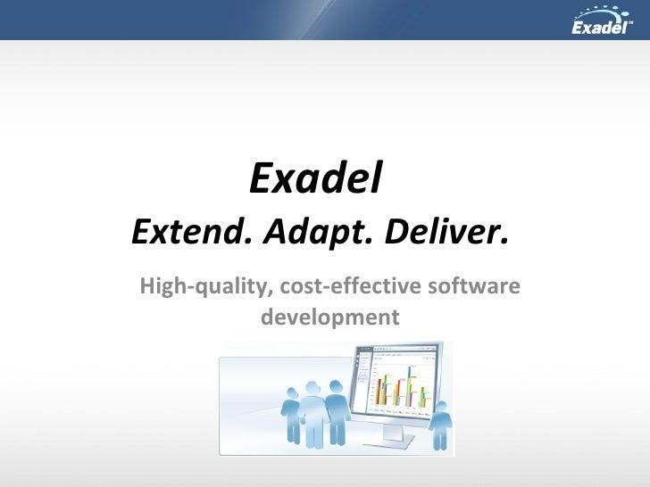 Exadel New