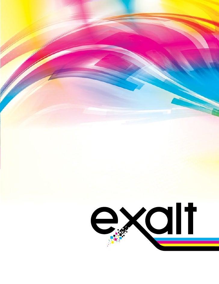 Exalt Brochure