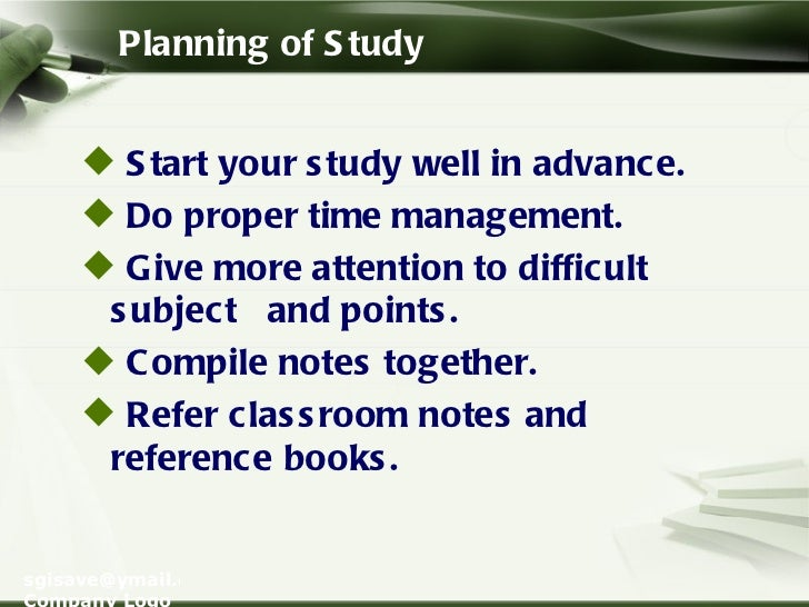 Want Presentation tips for University Theory Exams!?