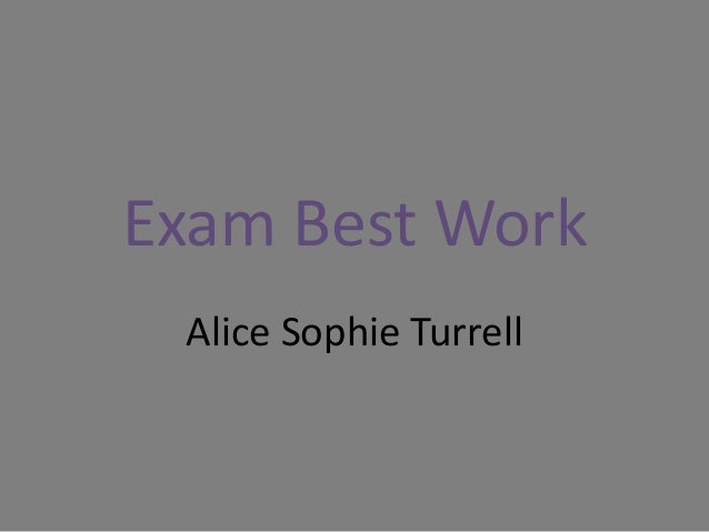 Exam Best Work