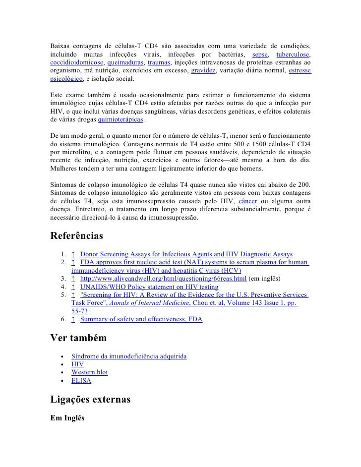 Exame cd4