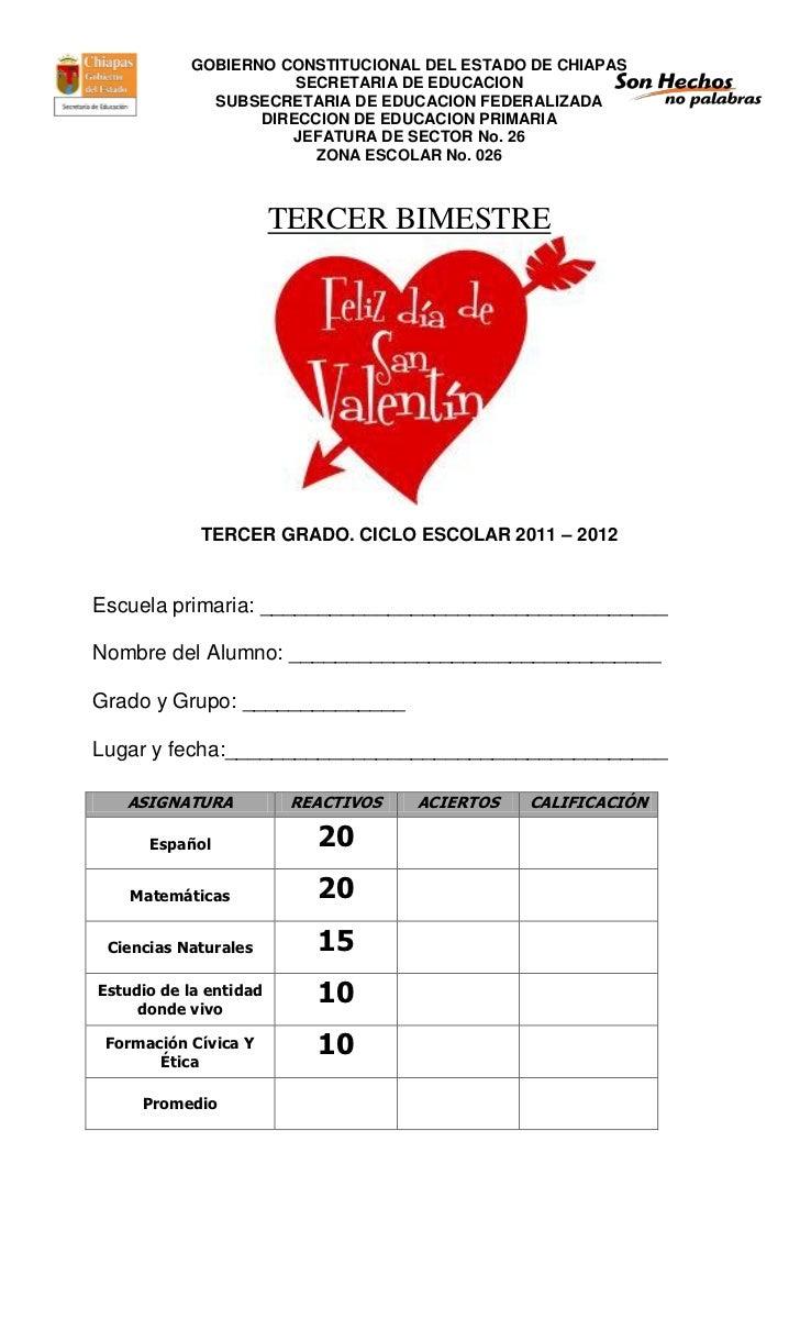 GOBIERNO CONSTITUCIONAL DEL ESTADO DE CHIAPAS                      SECRETARIA DE EDUCACION             SUBSECRETARIA DE ED...