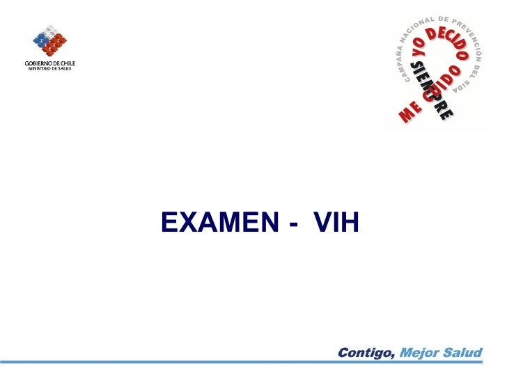 EXAMEN - VIH