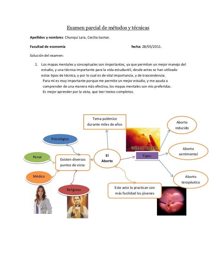 Examen parcial de métodos y técnicas(1)