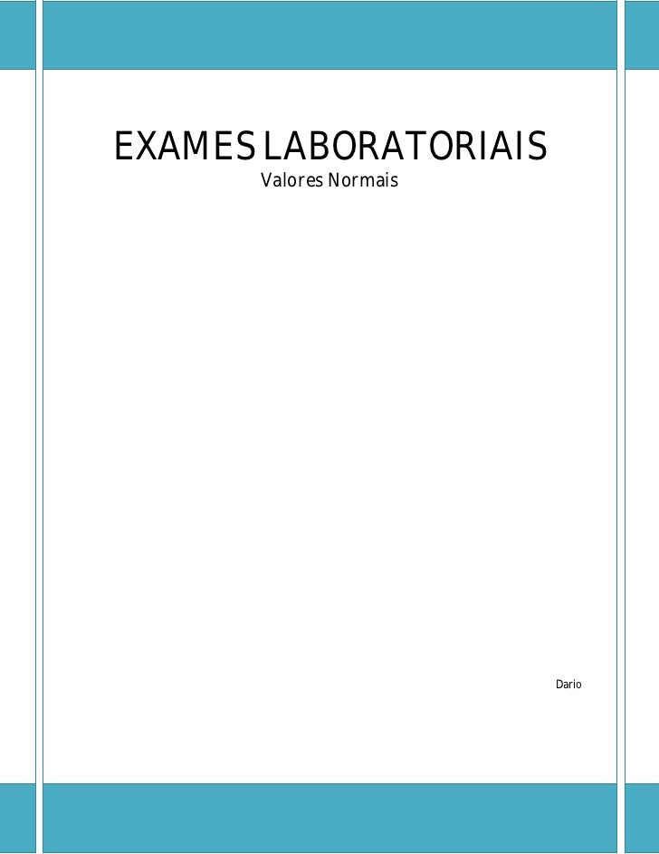 Requisicao de exames laboratoriais