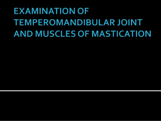 •CONTENTS •Introduction •Anatomy of the joint •Ligaments of the joint •Articular disc •Retro discal tissue •Examination of...