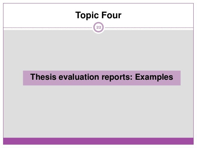 Dissertation evaluation form umich