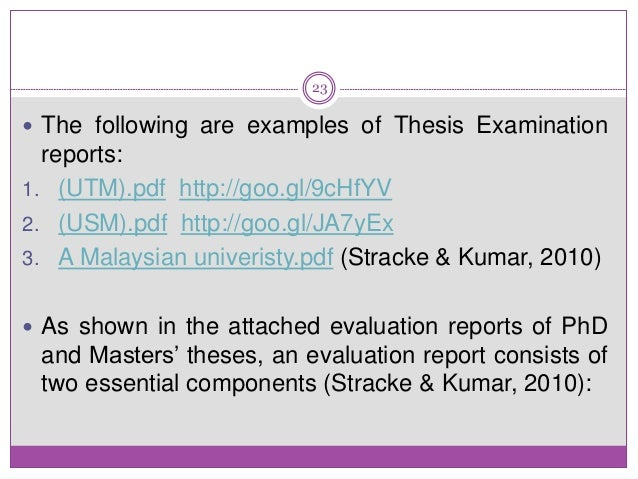 Writing Thesis Statements  AscEriksonEdu Evaluation Report Of Phd